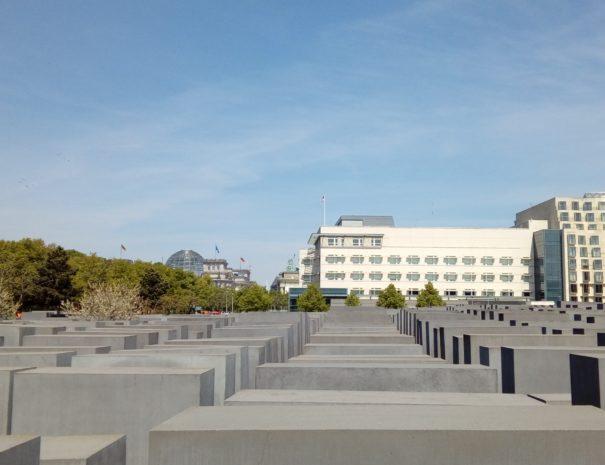 אנדרטת השואה בברלין - הטיולים של נדב