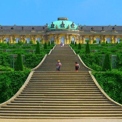 ארמון סנסוסי וגני סנסוסי - הטיולים של נדב בברלין