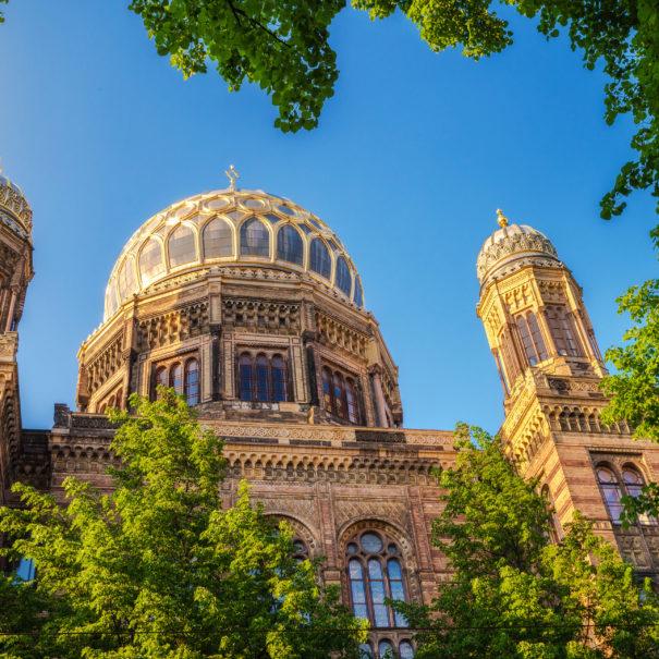 בית הכנסת החדש אורניינבורגר שטרסה - הטיולים של נדב בברלין
