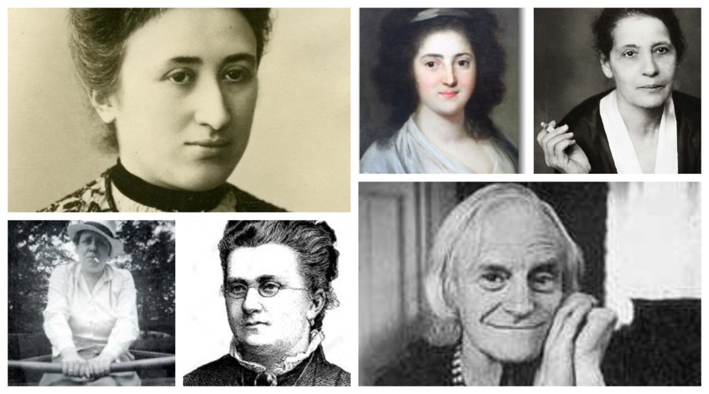 קולאז' נשים ברלינאיות
