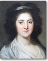 הנרייטה הרץ, ציור של אנטון גראף מ-1792