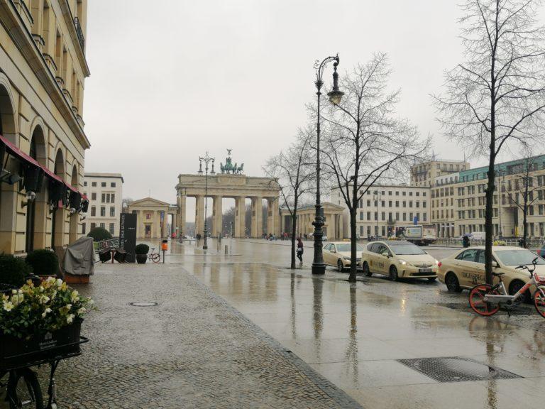 שער ברנדנבורג בתקופת הקורונה