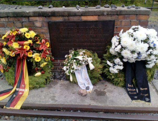אנדרטה ברציף 17 גרונוולד - הטיול היהודי - הטיולים של נדב בברלין