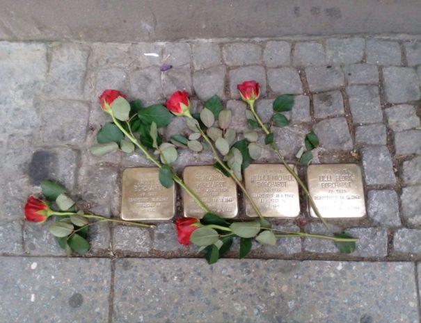 אבני נגף בברלין - הטיול היהודי - הטיולים של נדב בברלין