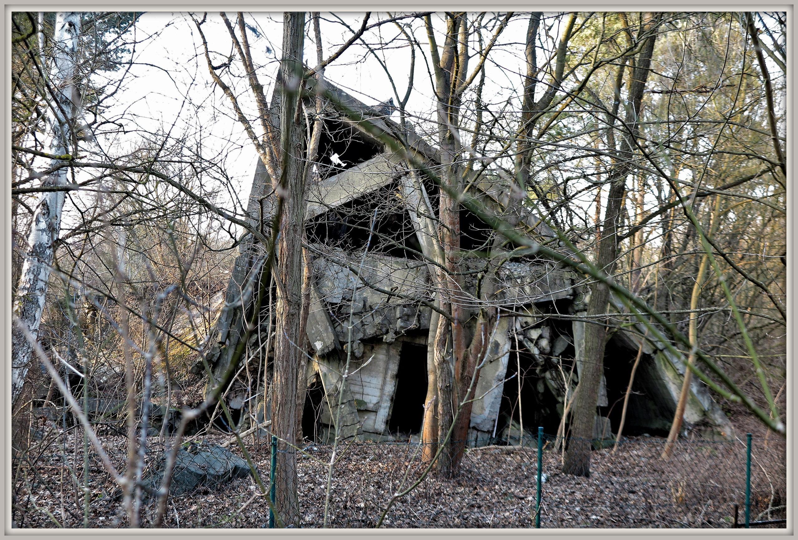 בונקר הרוס באזור וונדורף